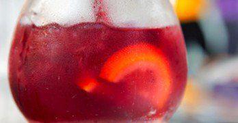5 recettes santé de sangria de moins de 180 calories