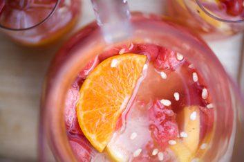 Sangria à l'orange