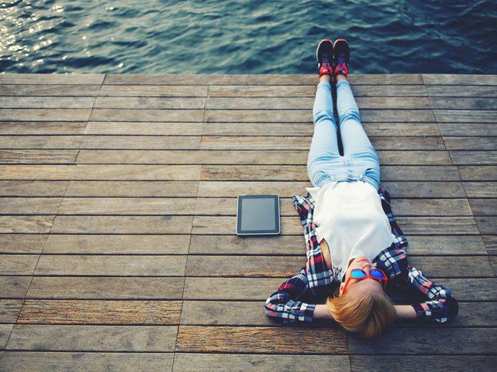 Prendre du temps pour se détendre