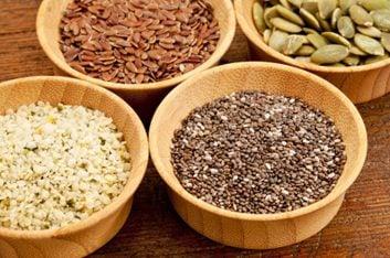 Les graines contiennent un cocktail nutritif