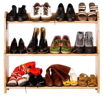 Placez une étagère à chaussures dans l'entrée