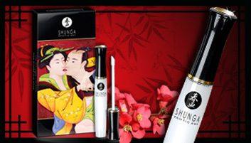 Lustre pour plaisir oral divin de Shunga