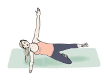 Mouvement no.8: La planche latérale