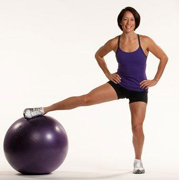 1. Accroupissement sur une seule jambe