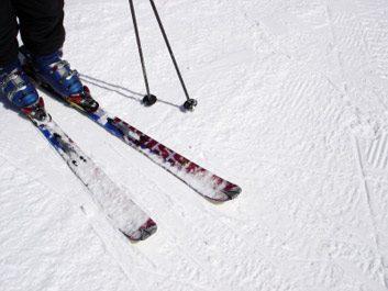3. Vérifiez également vos skis