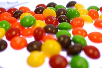 Vous rêvez d'un demi-sachet de 61grammes de Skittles (125 calories, 1,25 gramme de lipides)?