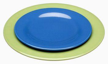 7. Servez-vous dans une petite assiette