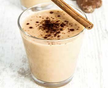 Smoothie avoine et cacao