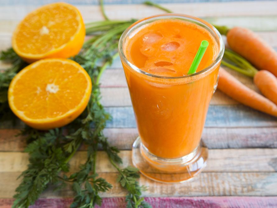 Smoothie carotte-gingembre