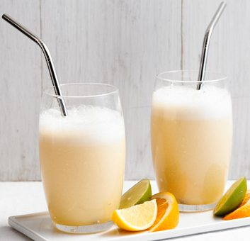 Smoothie amandes et oranges