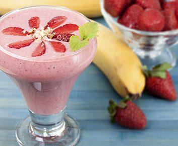 Un smoothie aux fruits rapide et sain