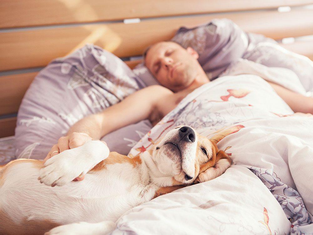 Pour un sommeil réparateur, masquez les bruits extérieurs.