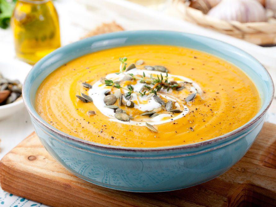 La soupe trop salée
