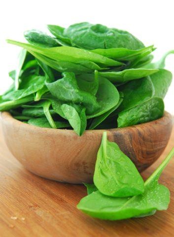 Épinard et autres légumes feuilles
