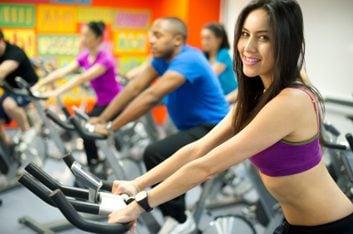 5. Le spinning est un entraînement très motivant.
