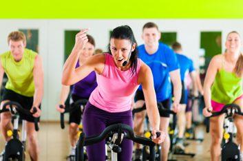 1. Le spinning fait brûler beaucoup de graisses et de calories.