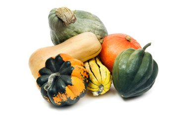 5. Courges d'hiver