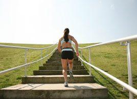 Tendance fitness: Montez les escaliers