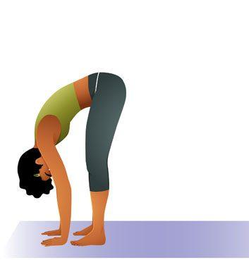 posture yoga flexion avant
