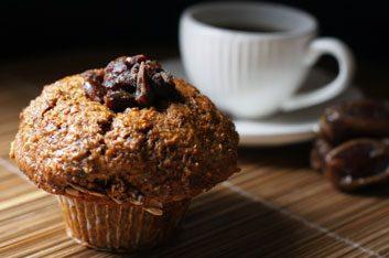 Le muffin acheté dans un café