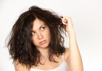 Produits pour cheveux abîmés