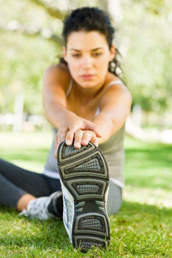 Délit: ne pas faire suffisamment d'étirement, particulièrement après une séance d'exercice