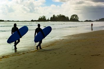 3. Le surf en mer
