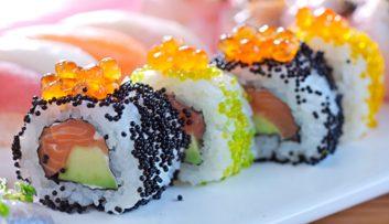 Thé et sushis