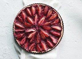 La meilleure recette de tarte aux prunes et aux noix de Grenoble