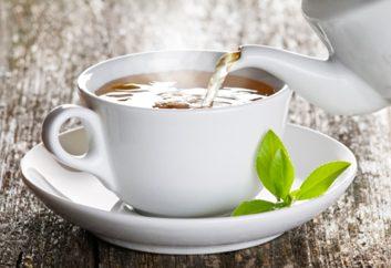 Thé au basilic