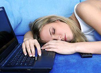 2. Négliger de se détendre avant d'aller au lit