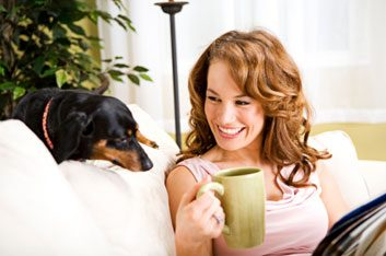 Pour atténuer votre stress: jouez avec votre animal de compagnie