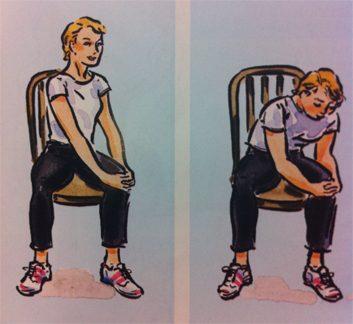 Exercice no. 4: Étirement du dos