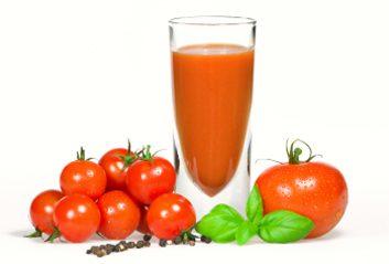 Yogourt frappé à la tomate