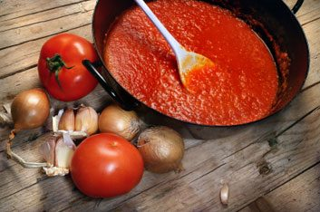 3. Sauce à spaghetti en bocal