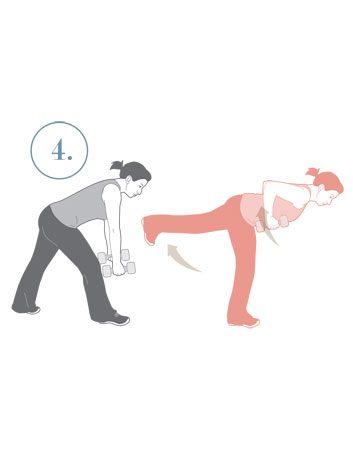 4. Tirage bas et relevé de jambe