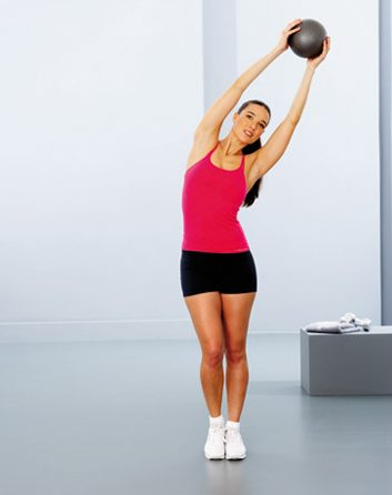 1. Balancement et étirement latéral