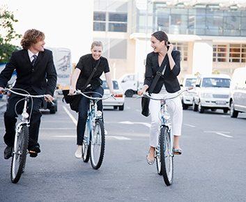 Rendez-vous au travail à vélo