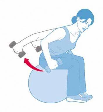 Kick-back pour triceps
