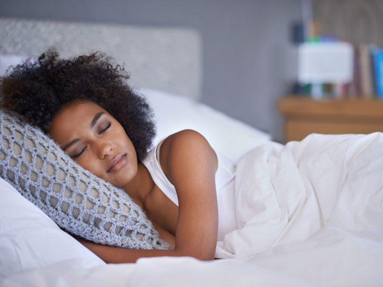 Votre sommeil perturbé à un certain moment dans le mois?