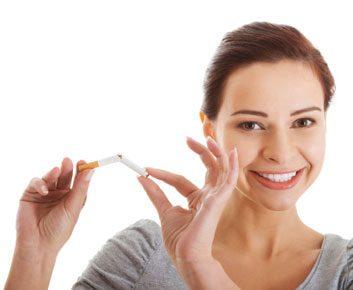 Que verser au mari que lui a cessé de fumer