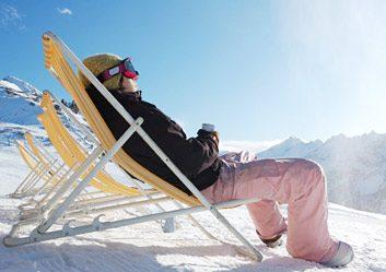 De véritables vacances d'hiver