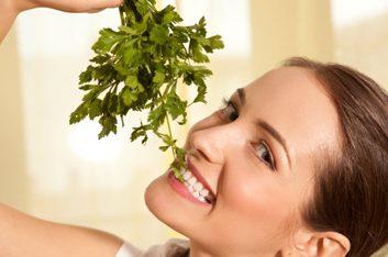 Les végétariens risquent moins de souffrir d'obésité.