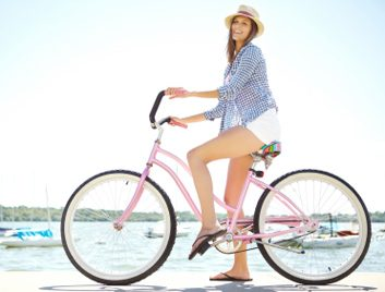enfourcher son vélo