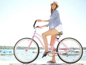 1. Le vélo raffermit les muscles du bas de votre corps.