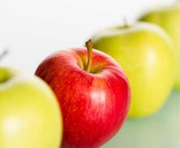 La pomme peut contribuer à combattre le cancer.