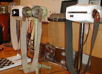 Les appareils à courroie de vibration