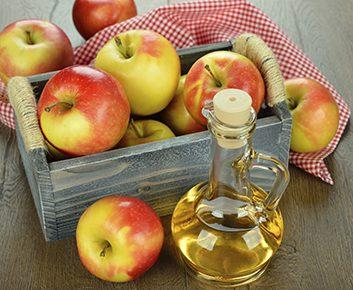 Appliquez du vinaigre de cidre