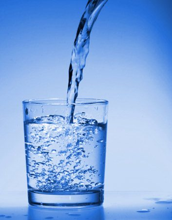1. De l'eau