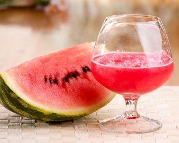 8. Cocktail pétillant de melon d'eau